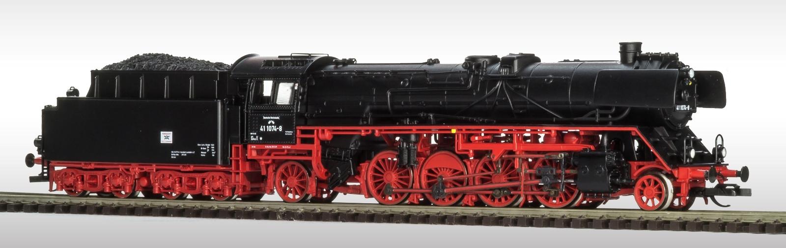 Beckmann/Fischer BR 41 Reko DR Ep.IV analog, Spur TT