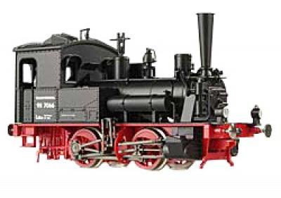 BR 98.7066  DR m. Druckluftbremse -  H0