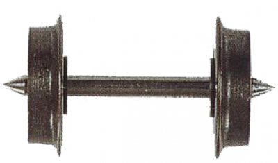 Metallradsatz , beidseitig isoliert. 8,0 mm -Spur TT