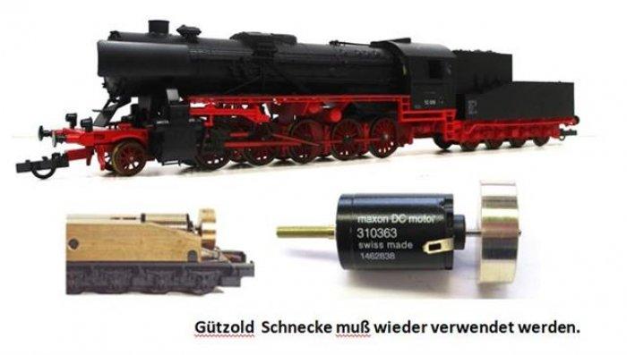 Antriebsatz Gützold BR 52 Steifrahmentender / Wannentender alte Ausführung Spur H0   H0