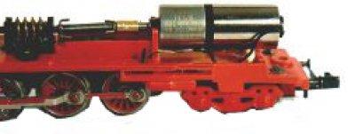 Antrieb Umbausatz für Piko BR 65  Spur N auf Glockenankermotor