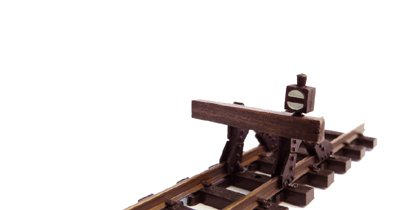 Messingguss Bausatz Einheits -Prellbock H0e