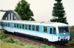 KRES 6284M Triebwagen BR 628.4 der DB,  Lack.:mint, analog Ep.V,Spur TT
