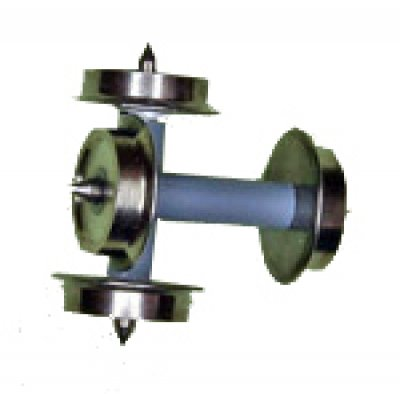 Metallradsatz mittig isoliert Ø 8,3 mm, Spur TT