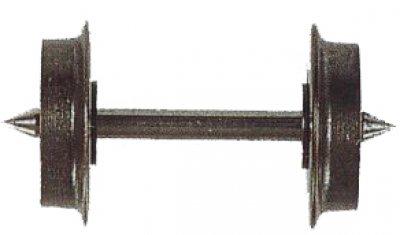 Radsatz einseit. isoliert 7,7mm ,TT