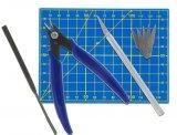 Werkzeugset für den Modellbau