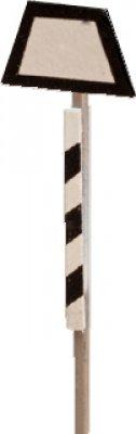 4x Trapeztafeln - Ätzteil  Bausatz -TT