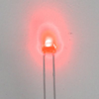 LED-Rot- bedrahtet Ø 1,8mm