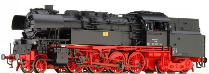 Gützold 31072090 - BR 65 1005 Ep.III DR Rundesse, analog Spur TT