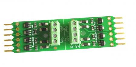 Kühn 2 Stück Motoradapter für Universal Schaltdecoder