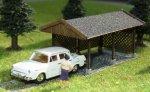 Laserfirstcut Bausatz Carport Nenngröße TT