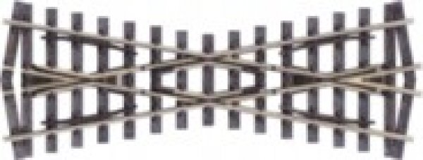 Peco Schmalspur  Kreuzung, Spurweite 12 mm,  H0m