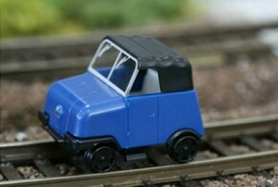 Kres Gleiskraftrad GKR1, rollfähig, ohne Antrieb, Spur TT