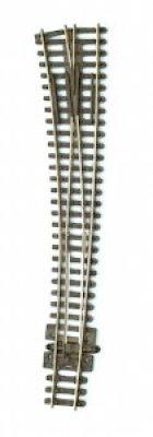 Peco Innenbogenweiche links mit isoliertem Herzstück Spur N - 9mm