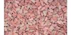 Ziegel 3000 Stück (lose) rot gemixt  H0/TT