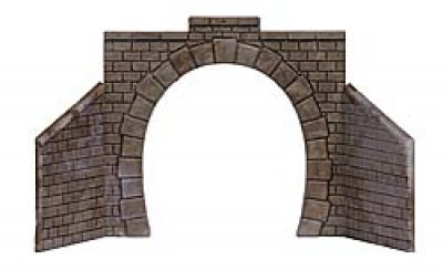 Busch 1 Stück Tunnelportal 1-gleisig Baugröße TT