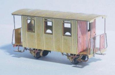 Bausatz 2-achs. Personenwagen, TTe