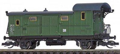 Busch 32000-3 -  2-achs. Packwagen Pwi-93, DR, Epoche III, Spur TT