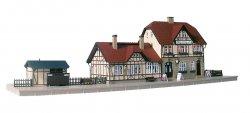 Auhagen Bausatz Bahnhof Moorbach, TT