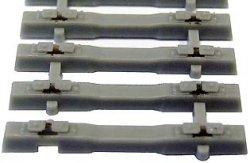 Tillig 1 Stück Beton Flex-Schwellenband L: 125 mm Spur TT