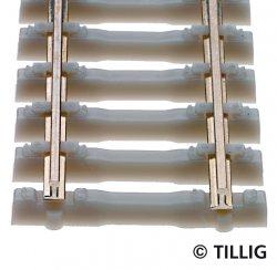 Betonschwellenflexgleis, L. ca. 520 mm, TT