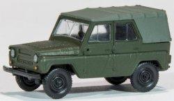 UAZ 469 Jeep militärgrün, Nenngröße TT