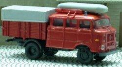 IFA W50 Feuerwehr Gerätewagen mit Boot , TT
