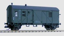 Hädl 113001-11 Packwagen Pwgs 44 der DR, schwarzgrau  Ep. II - TT
