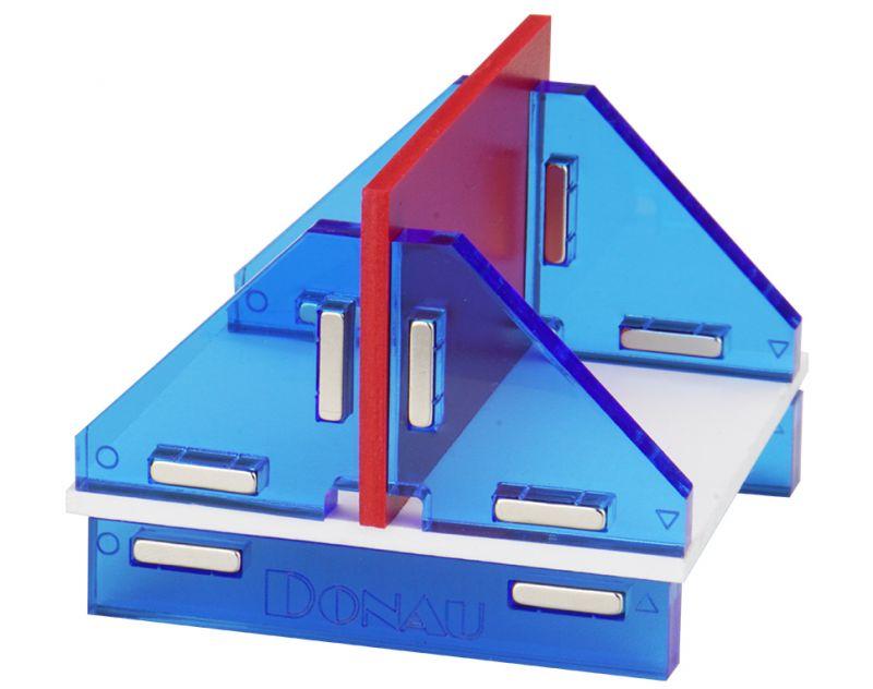 Donau Elektronik Modellbau Winkelset magnetisch 180°