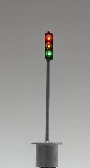Krois Verkehrsampel, rot/gelb/grün Nenngröße TT