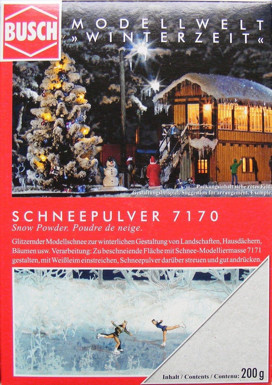 Busch Schneepulver 200g