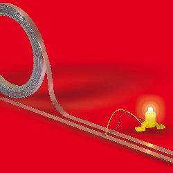 Kupferband, selbstklebend Länge 10 m