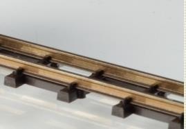 Feldbahn Selbstbau Flexgleis  L.: 1,0m,  H0f ,Spurweite 6,5mm