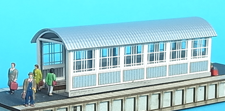 Bausatz: Bahnsteigunterführung Nenngröße TT