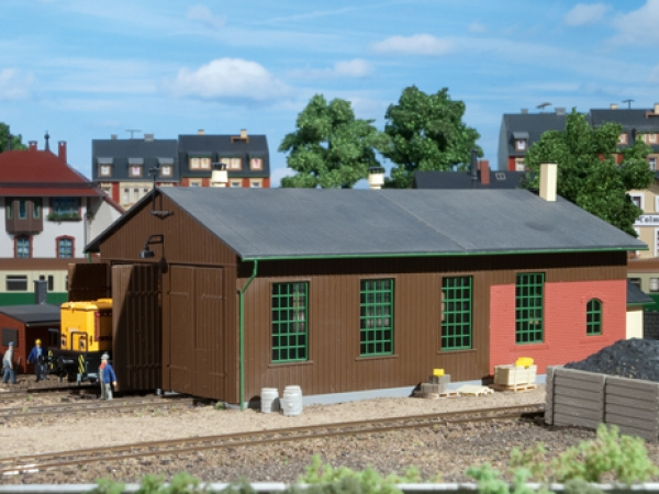 Bausatz Auhagen Lokschuppen Nenngröße H0