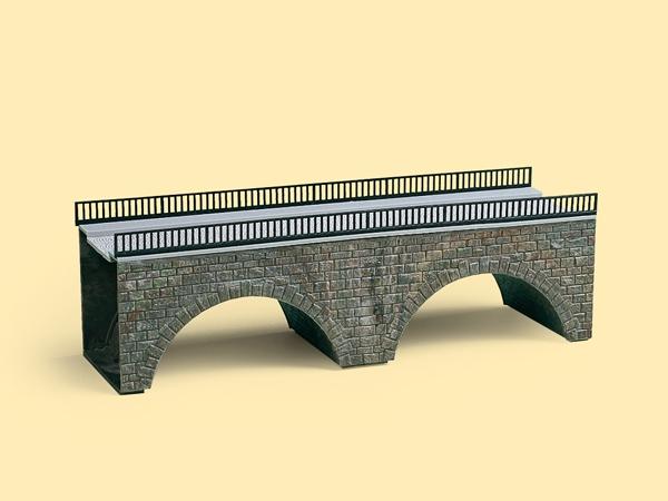 Auhagen Bausatz Kleine Straßenbrücke H0 (TT)