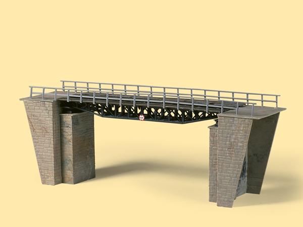 Auhagen Bausatz Fachwerkbrücke H0 (TT)