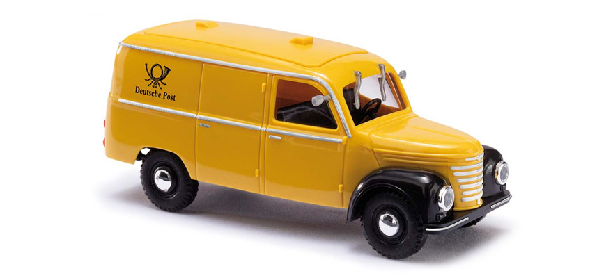 Busch Framo V901/2, Kastenwagen, Post, H0
