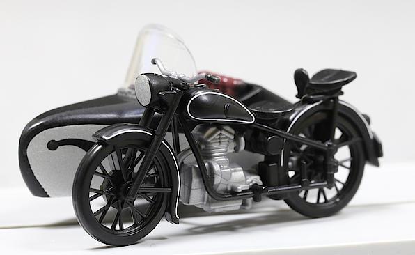 AWO 425T - Motorrad mit Seitenwagen, Nenngröße H0 (1:87)