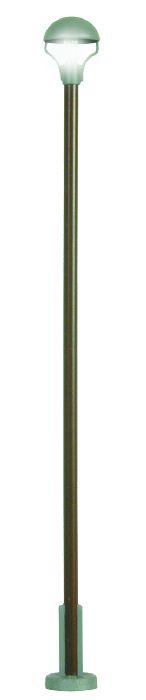 Viessmann 6062 Fertigmodell Holzmast Pilz Bahnhofsleuchte DR, LED warmweiß, H0