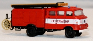Feuerwehr IFA W50L LF16 mit Bauchbinde, TT