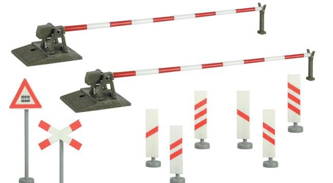 Viessmann vollautomatische Bahnschranke Nenngröße TT