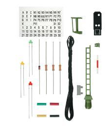 Viessmann Bausatz Licht Einfahrsignal - Nenngröße H0