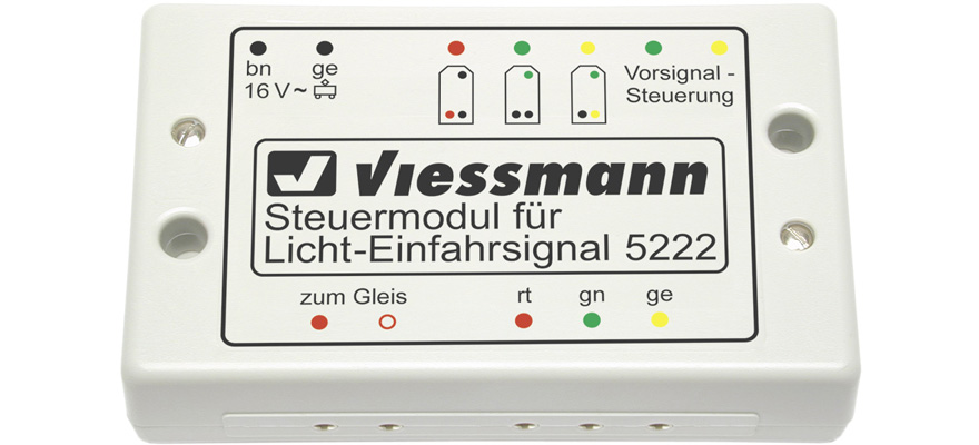 Viessmann Steuermodul für Licht-Einfahrsignale - für alle Nenngrößen