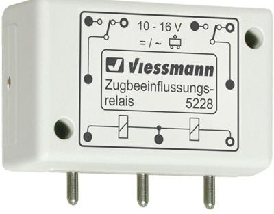 Viessmann 5228 Zugbeeinflussungsralais 1 x 2 UM