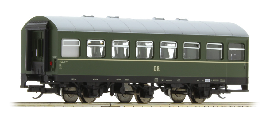 Tillig Reko Personenwagen 3-achs.B3g, DR, Spur TT