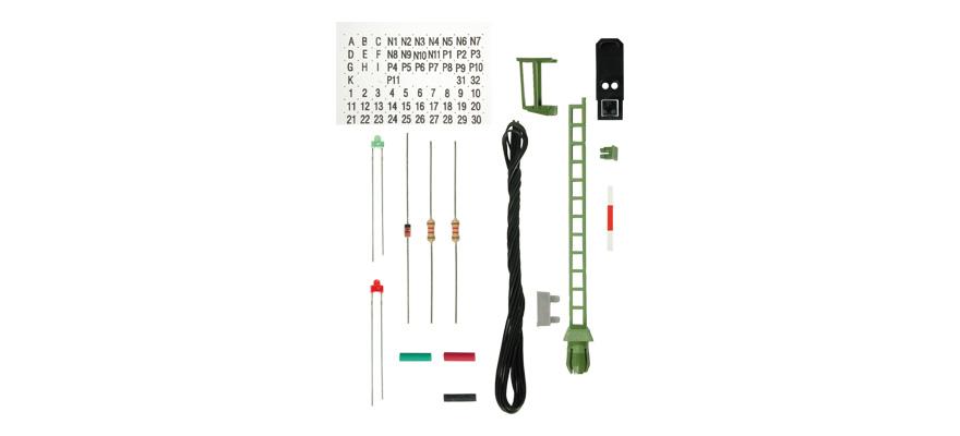 Viessmann Bausatz Licht Blocksignal - Nenngröße H0