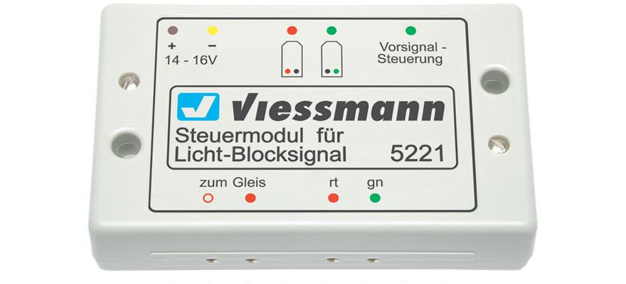 Steuermodul für Licht-Blocksignal