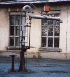 Veit sächs. Wasserkran Fertigmodell, TT/ TTe