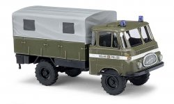 Busch LKW Robur LO 1800A Mannschaftstransportwagen, H0